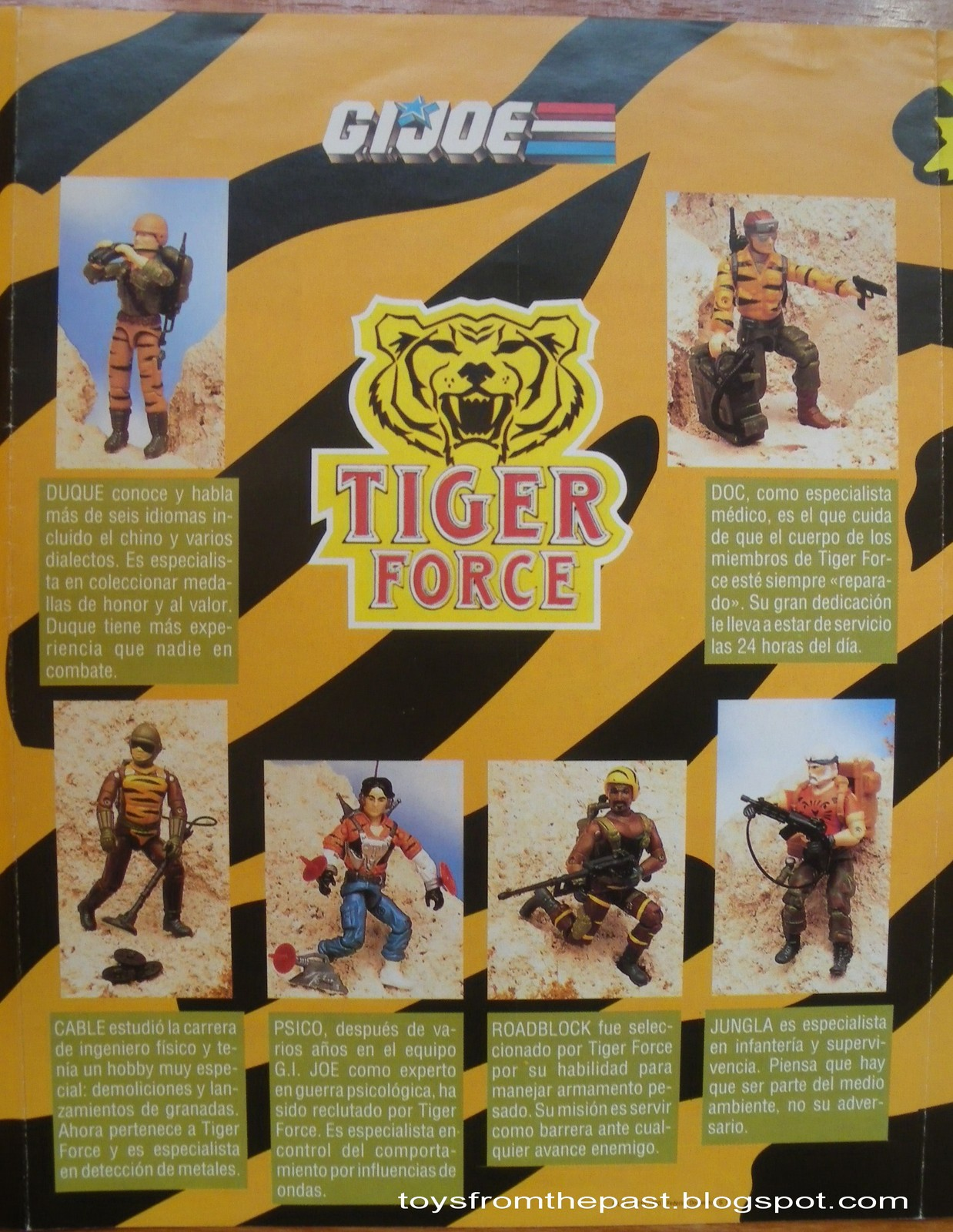 Toys From The Past 251 GI JOE TIGER FORCE EUROPEAN